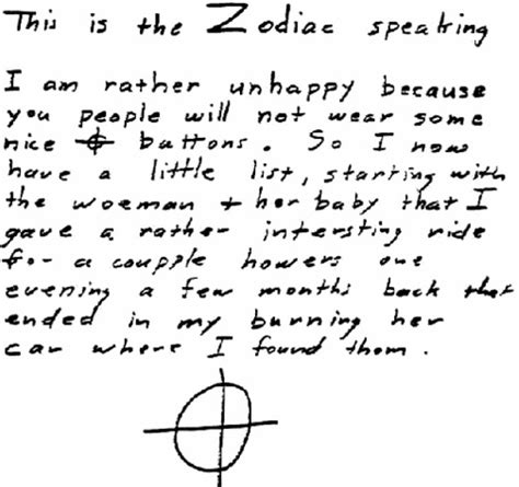 Zodiac Service Letter 18 Will Save World S Unsolved Mysteries Will Save