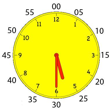 printable analog clock with minutes 301 moved permanently