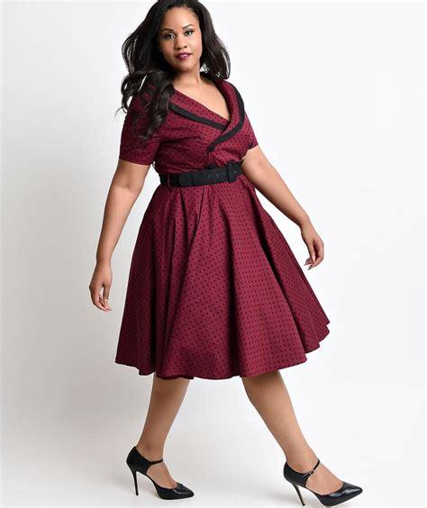 fifties dresses plus size pluslook eu collection