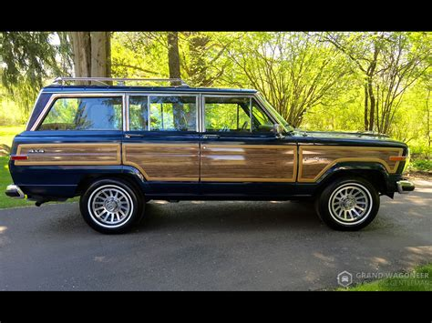 jeep wagoneer 1990 1990 jeep grand wagoneer grand wagoneer by classic