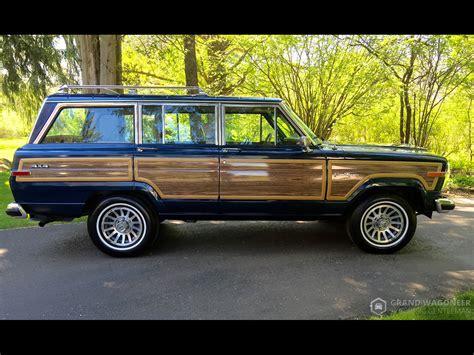 jeep wagoneer blue 1990 jeep grand wagoneer grand wagoneer by classic