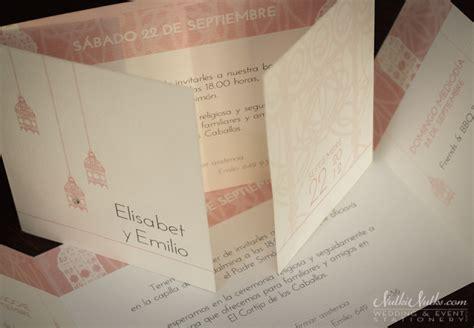 moroccan wedding invitations moroccan wedding stationery nulki nulks