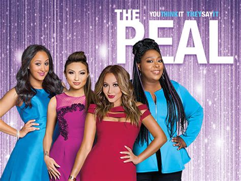 the real a daytime talk show with co hosts adrienne houghton loni love tamera - The Real Com Giveaways