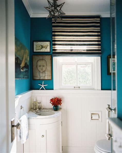 blue eclectic bathroom photos hgtv powder room with bright 9 dizajnov 253 ch tipov na vylepšenie malej k 250 peľne všetko o