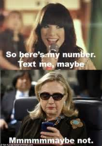 Hillary Clinton Cell Phone Meme - hillary clinton removes photo that inspired texts from