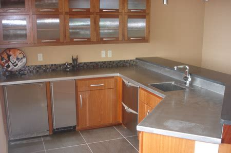 Liquid Stainless Steel Countertops by Stainless Steel Countertops Cost Kbdphoto