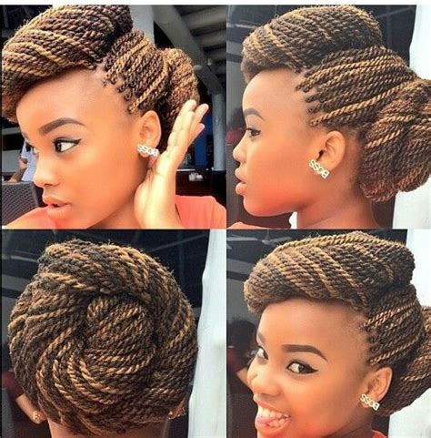 african braided bun hairstyles hairstyle getty it s that time again 20 best african american wedding