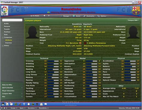 Download Full Version Football Manager 2007 | football manager 2007 download free full game speed new