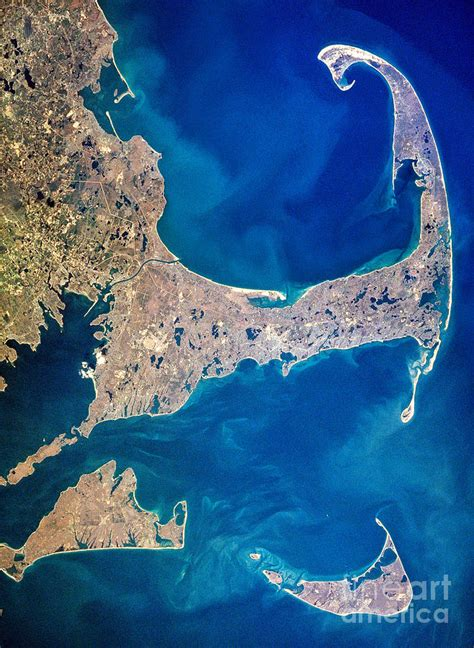 cape cod islands cape cod and islands 1997 view from satellite by