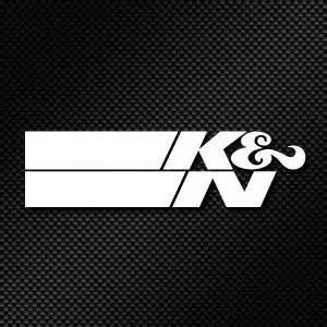 K N Sticker