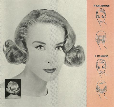 1960s perms the pink retro powder room diy vintage wet set picture