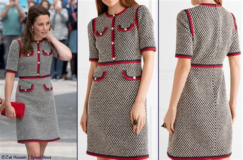 2017 06 26 sarah westwood blue dress womens dresses pictures kate middleton gucci tweed dress