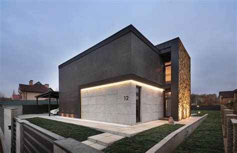 modern box house contemporary box houses design by sergey makhno in kiev
