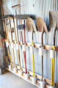 Garage Storage Yard Tools Gardening Supply Organizing Diy Storage Ideas