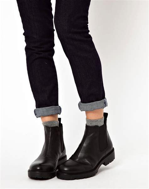 vagabond vagabond kenova flat chelsea boots at asos