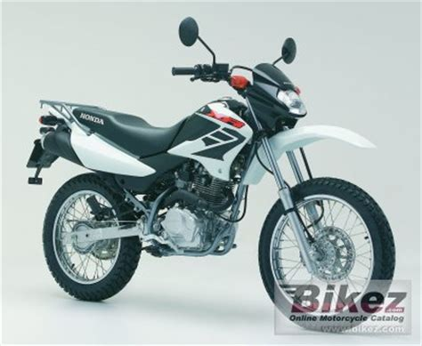 honda xr 125 specs 2007 honda xr 125 specifications and pictures