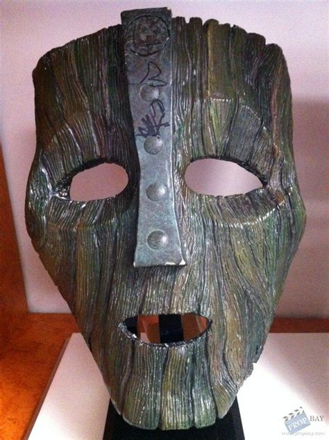 from the mask loki s mask prop from the mask 1994 memorabilia archive and