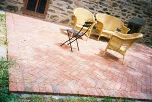 Diy Patio Pavers 20 Charming Brick Patio Designs