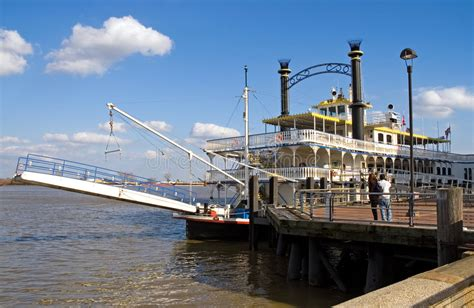 river boat tour new orleans prices new orleans river boat at dock stock photo image 4627640