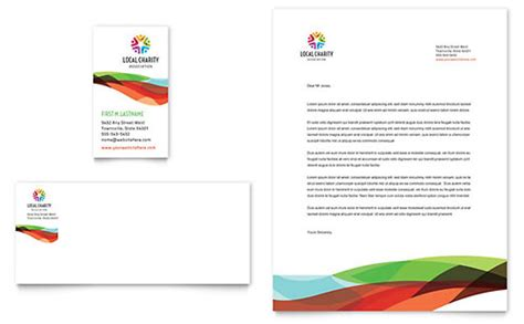 charity letter headed paper charity golf event flyer ad template design