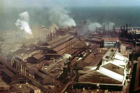 Gary Indiana Records File U S Steel Plant Nara 547097 Retouched Jpg Wikimedia Commons