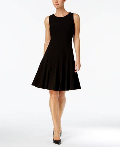 S Sleeveless A Line Dress calvin klein sleeveless pleated a line dress dresses