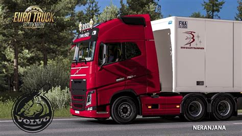 volvo fh fh  reworked  eugene ets   youtube