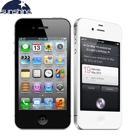 Cell Phone 3 by Iphone4s Original Unlocked Apple Iphone 4s Mobile Phone 3