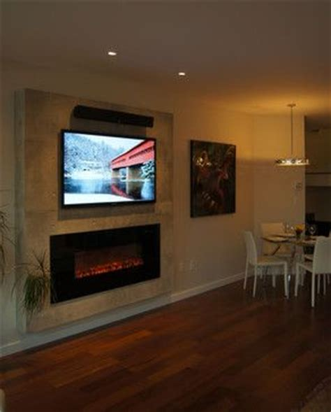 Wall Mounted Electric Fireplace Tv by The World S Catalog Of Ideas