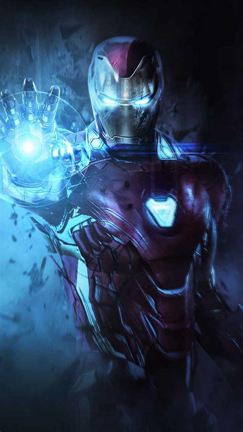iron man mark armor avengers endgame iphone wallpaper