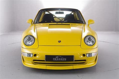 Porsche 993 Rs For Sale Porsche 993 Rs Clubsport On Sale For 163 400k