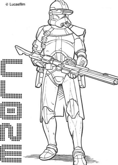 free star wars the clone wars coloring pages