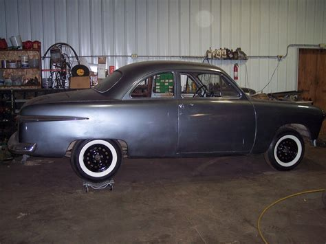 Ford Shoebox by 1951 Ford Shoebox Coupe Custom Project Rod Rat Rod
