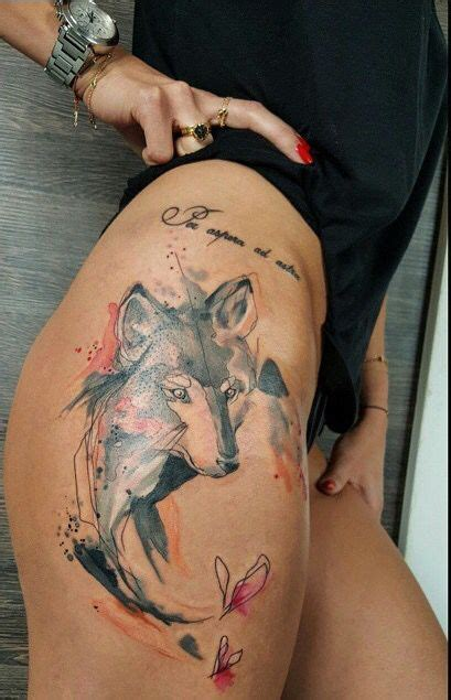 watercolor tattoo europe simona blanar watercolor wolf eastern europe wow
