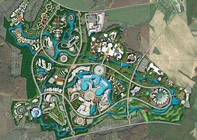 amusement park floor plan innovations design group landscape architects park