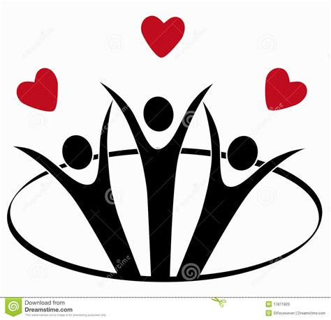 symbol for love symbol of love stock photo image 17871820