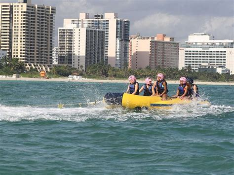 boat rides on miami beach brothers brothers banana boat rides boucher brothers