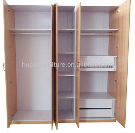 simple bedroom wardrobe designs simple design 4 door hotel wardrobe furniture 4 door
