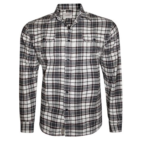 Jachs Ny Plaid Shirt Branded new mens brushed fleece flannel check shirt jachs branded lumberjack 100 cotton ebay