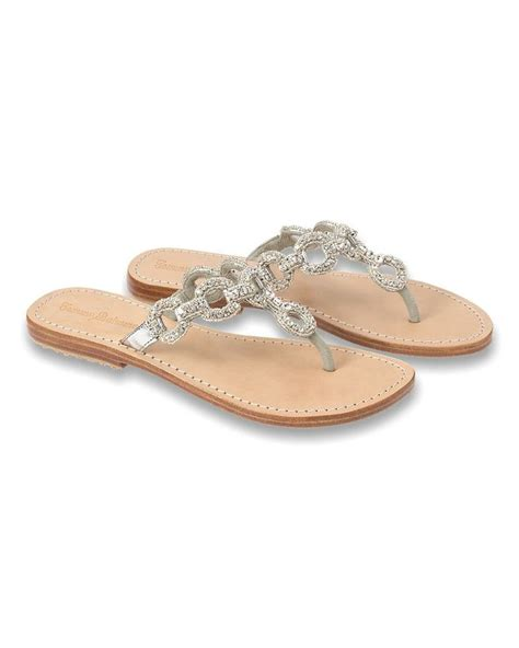 silver beaded sandals bahama beaded silver sandals if only they had them