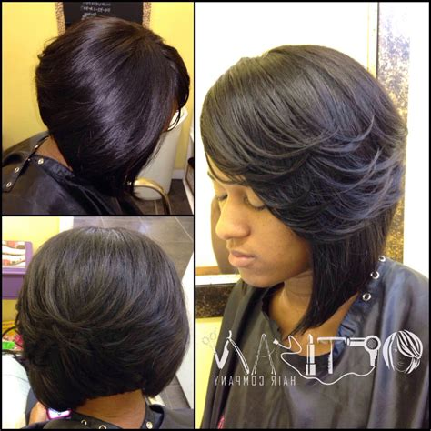 sew in hair gallery cute bob weave hairstyles fade haircut