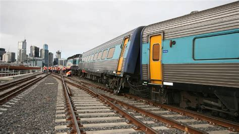 Sleeper Sydney To Melbourne by Track Design Caused Xpt Derailment The Border Mail