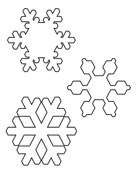 printable mini snowflakes when you need the bright idea to design your snowflakes