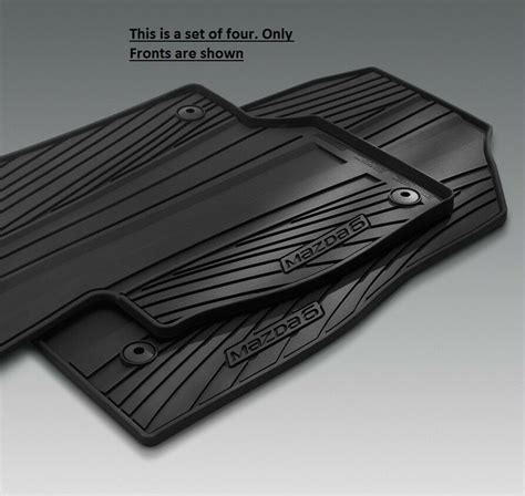 mazda   weather floor mats    ebay