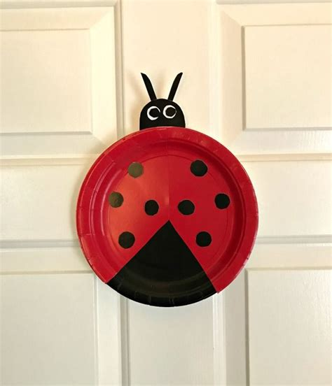 Paper Ladybug Craft - 1000 ideas about ladybug crafts on bug crafts