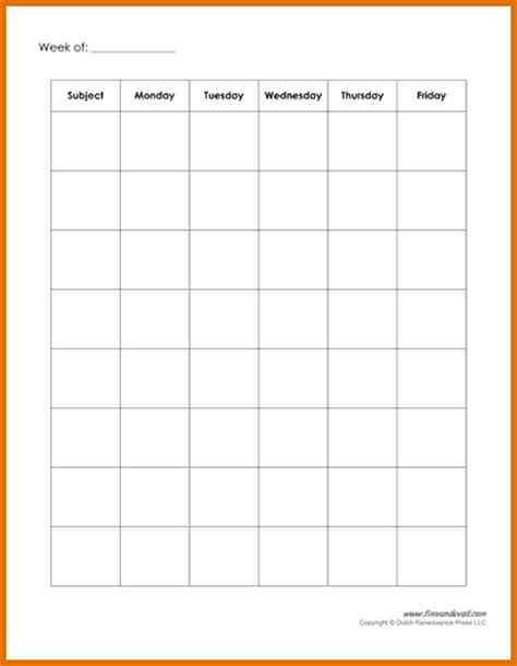 weekly schedule template pdf 8 weekly schedule template pdfreference letters words