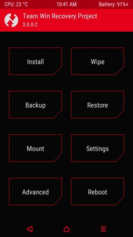 themetwrp twrp  dark stock theme pac android development  hacking