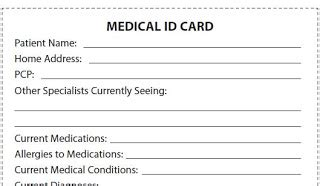 id card template pdf let s talk about ms be a take charge patient