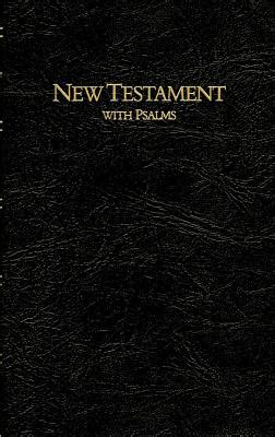new testament with psalms print esv books keystone large print new testament with psalms kjv book by