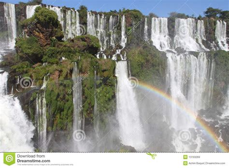 biggest waterfalls  earth royalty  stock images